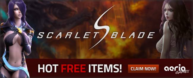 Scarlet blade coupons