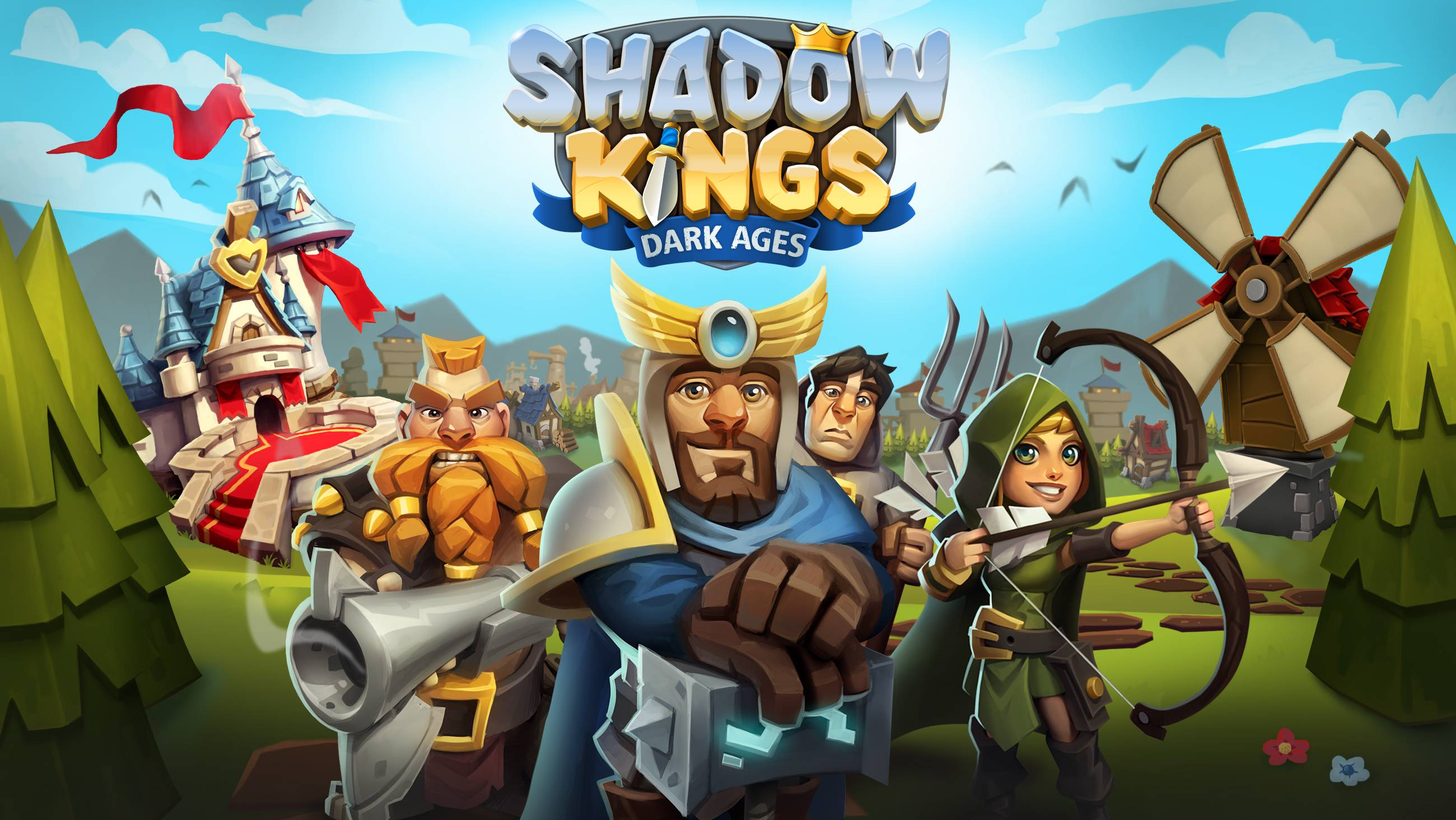 Shadow Kings: Dark Ages logo