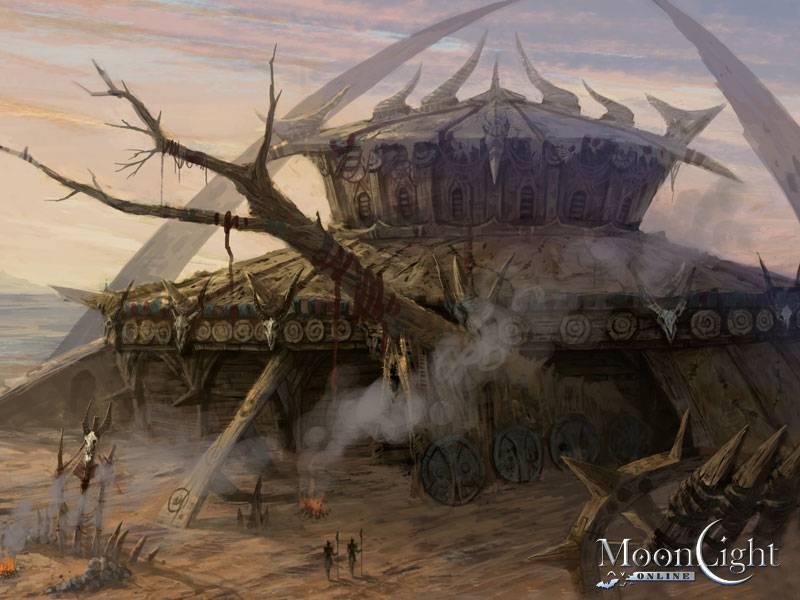 Bocetos de las ciudades principales de moonlight online for Moonlight iluminacion