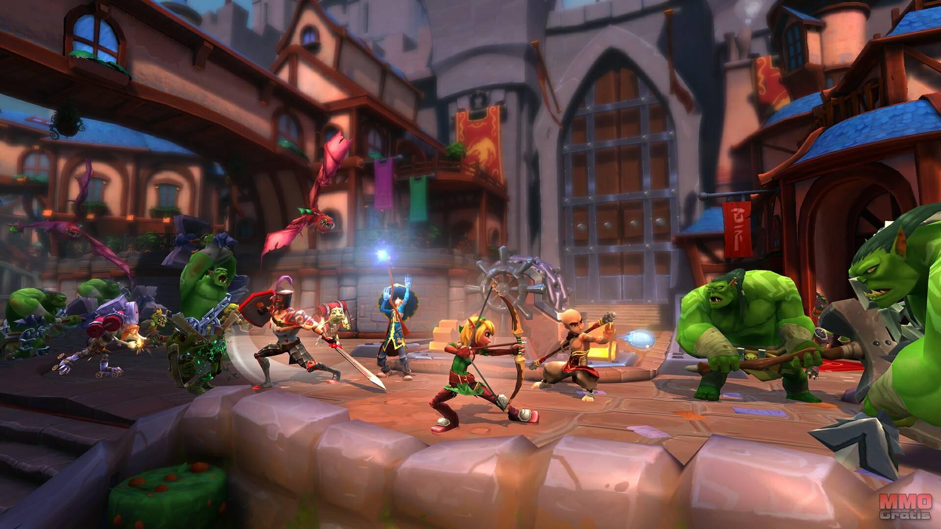 Imagenes de Dungeon Defenders II