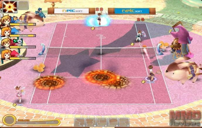 Imagenes de Fantasy Tennis