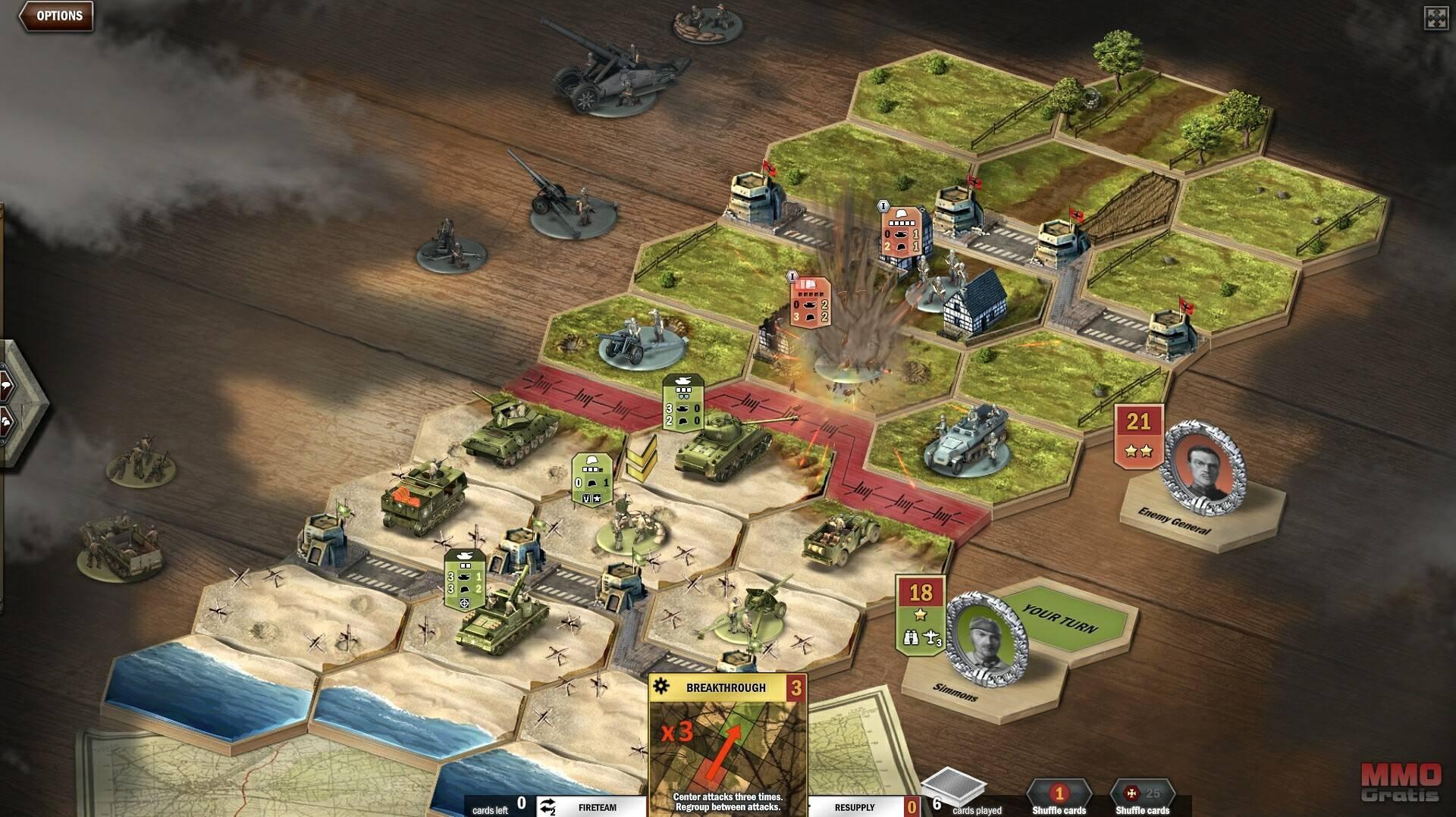 Imagenes de Panzer General Online