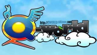 Q-World logo