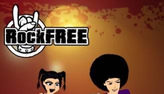 RockFree logo